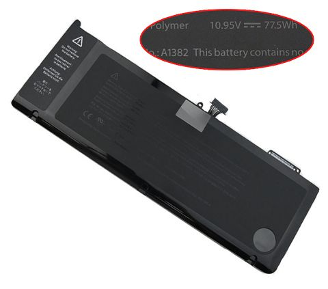 Apple mc721ll/A a1286 macbookpro8.2 Early 2011 Battery Photo