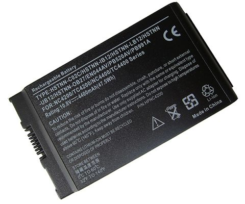 Hp Compaq Business Notebook tc4200 Battery Photo