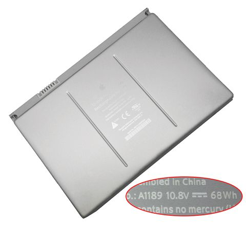 Apple Macbook Pro 17 Inch ma611 Battery Photo